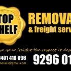Top Shelf Removals